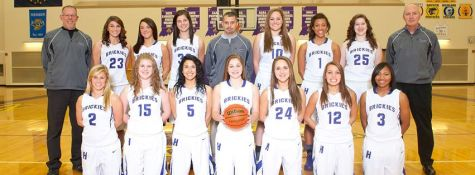 Girl's basketball begins their 2014-2015 season