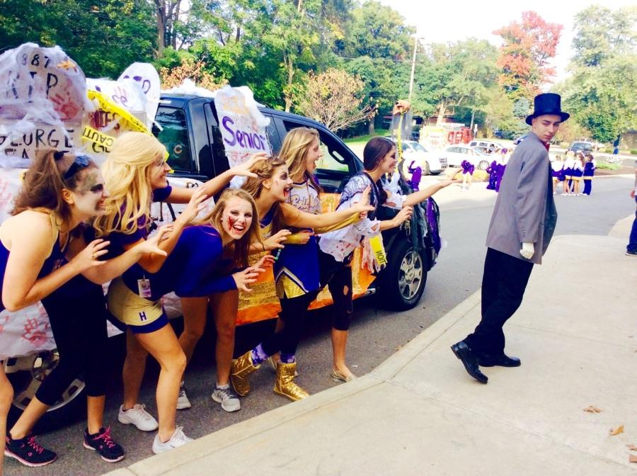 Homecoming Parade was a huge success