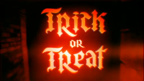 Trick Or Treat? Be safe!