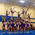The Hobart High School Cheerleaders earned first place at the performance last Saturday.