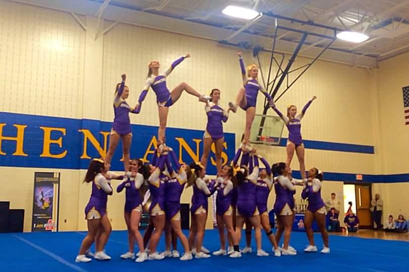 Hobart Cheerleaders Take Home State Title